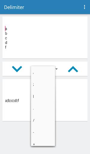 Screenshot 4 Delimiter Tools