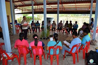 Photo: Group discussion - TOT1 , Tha Tum , Surin