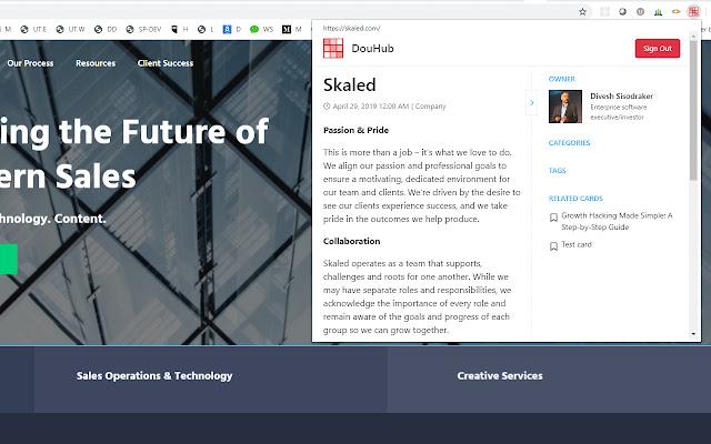 DouHub Knowledge Platform
