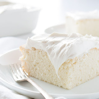 White Snack Cake Recipes