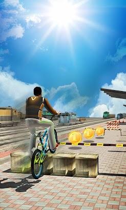 BMX Fever 3D - Speed Escape- screenshot thumbnail