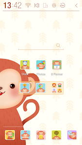 Happy Monkey Year Atom Theme screenshot 2