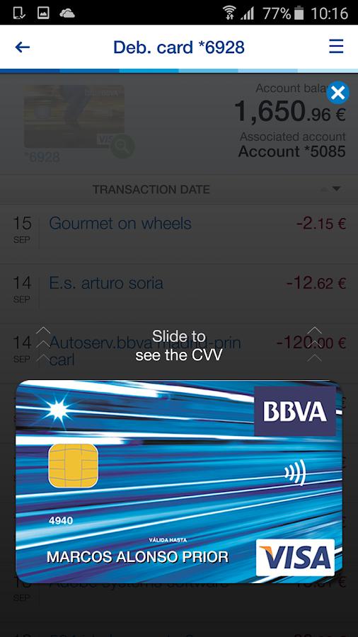 BBVA | Spain- screenshot