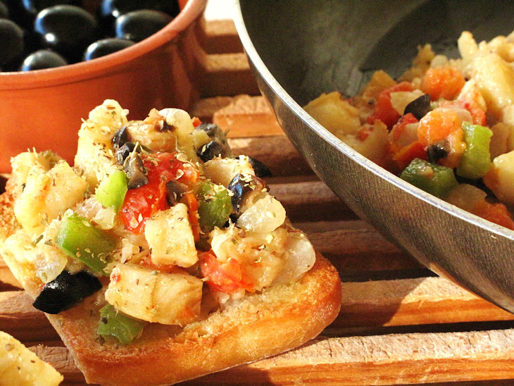 SautéEd Cod with Vegetables and Olives Recipe