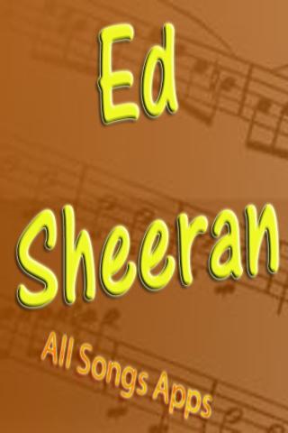 All Songs of Ed Sheeran