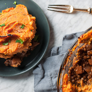 Lentil Sweet Potato Shepherd's Pie