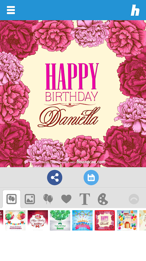 Happy Birthday Card Maker - Android Apps on Google Play