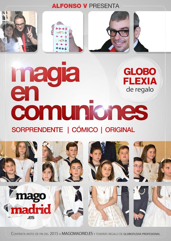 magia en comuniones alfonso v 2015