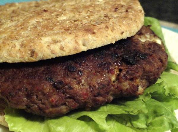Greek King Burger Recipe
