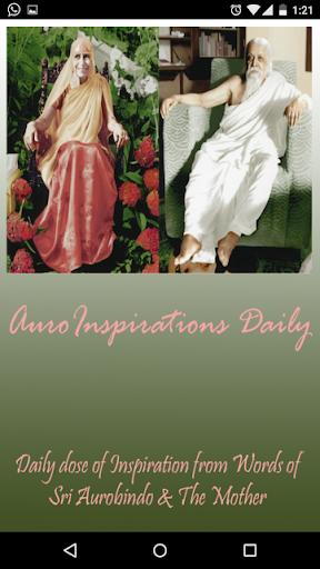 AuroInspirations Sri Aurobindo