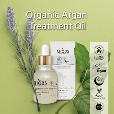 (CHOBS) Organic Argan Treatment Oil 有機摩洛哥堅果油