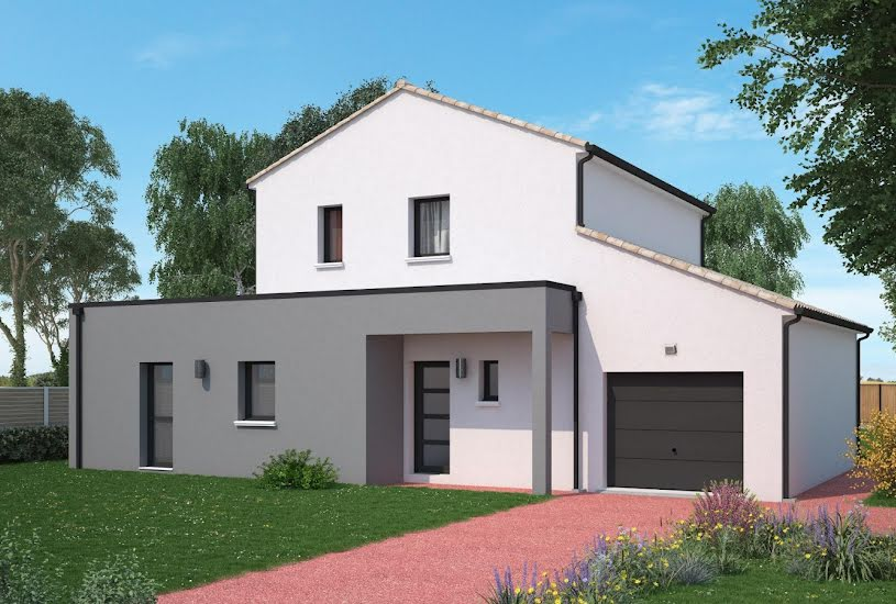 Vente Terrain + Maison - Terrain : 1100m² - Maison : 135m² à Migné-Auxances (86440)