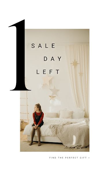 1 Sale Day Left - Facebook Story Template