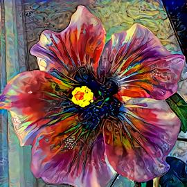 Hibiscus 4 by Cassy 67 - Digital Art Things