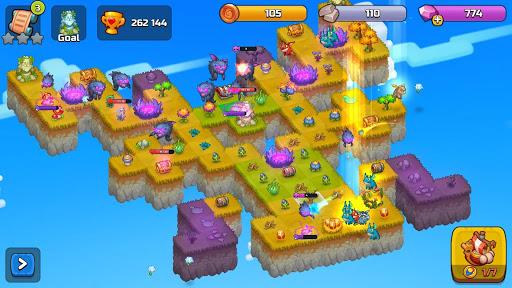 Merge World Above: Merge games Puzzle Dragon 4.0.5615 screenshots 23
