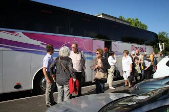 Photo: Le 17 mai 2014 nous retrouvons le grand car Ponsot et Laurent pour aller à St Maximin la Ste Beaume.