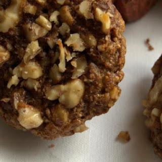 Gluten Free, Dairy Free Walnut Buckwheat Muffins.