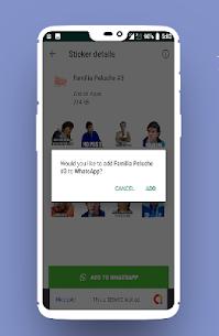 Stickers de la Familia Peluche Para WhatsApp 3.0 [MOD APK] Latest 2
