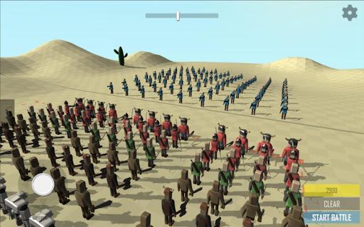 Stick War Simulator RTS Sandbox captures d'u00e9cran 1