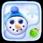 Witenr Snow GO Keyboard Theme