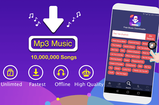 Free Music Download + Mp3 Music Downloader + Songs screenshot 1