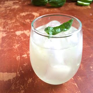Cucumber Basil Gin Fizz