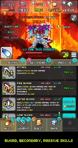One Combo Sword - Grow your Sword