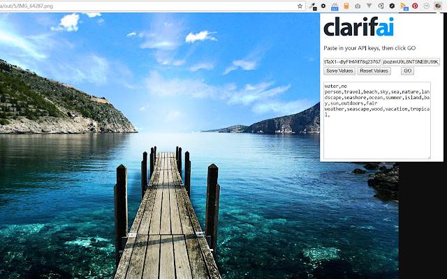 clarifAI Image Tagger