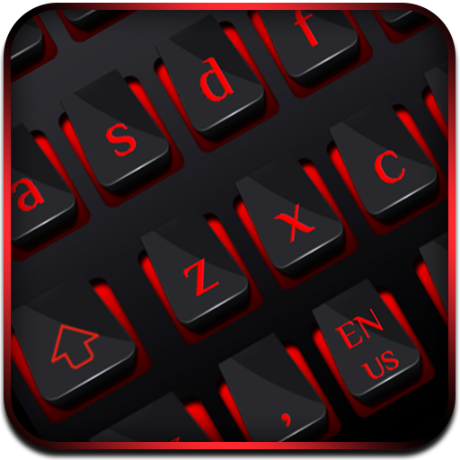 Black Red Business Keyboard