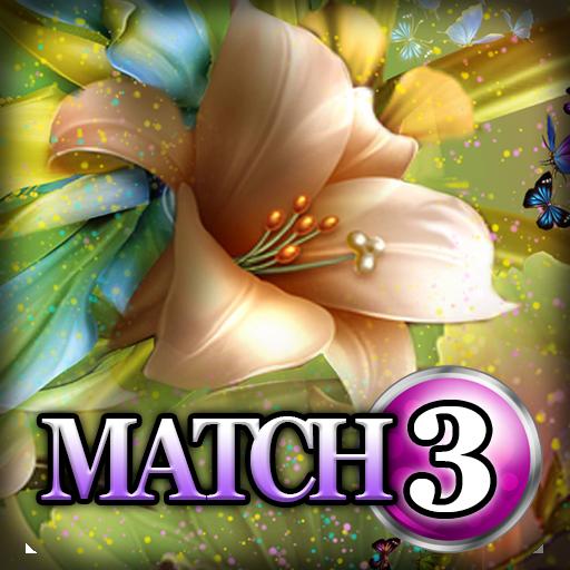 Match 3: Flower Power 解謎 LOGO-玩APPs