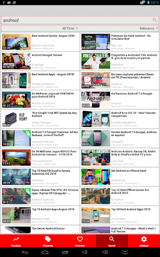 Video Search for YouTube: Free Music & Videos u2615ud83cudfac 2.7.4 Screenshots 15