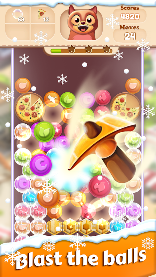 Toon Collapse Blast: Physics Puzzles- screenshot