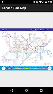 Tube Map: London Underground- screenshot thumbnail