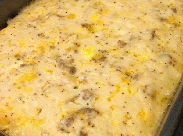 Biscuits & Gravy Casserole Recipe