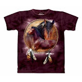 T-Shirt Horse Shield L