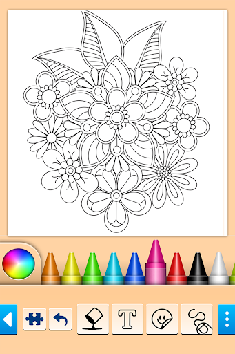 Mandala Coloring Pages apktreat screenshots 2