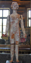 Photo: Terracotta doll with moving limbs .......... Terracotta pop met beweegbare ledematen