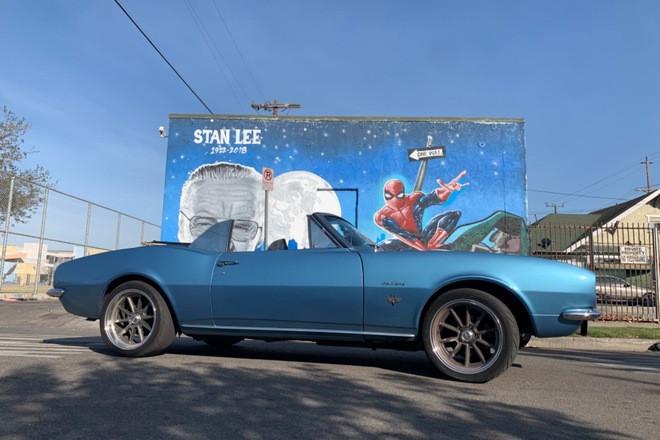 1967 Camaro Convert #Ramz.67 Hire Los Angeles