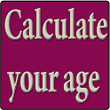 Calculate your age icon