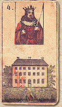 Photo: 1846 A legrégebbről fent maradt Lenormand jóskártya - 4. kártyakép