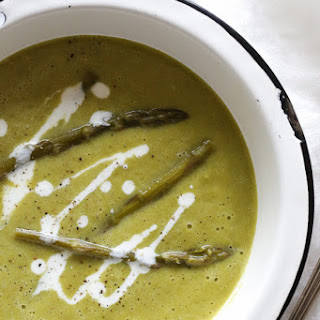 Fresh Asparagus Soup Chicken Broth Recipes