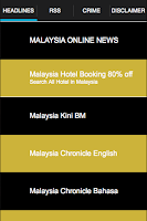 Screenshot of Malaysia Online News : GHB