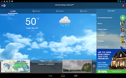 WeatherBug Screenshot 1