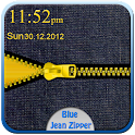 Blue Jean Zipper Go Locker apk