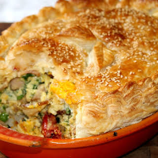 Bacon And Egg Pie.