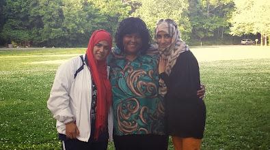 Photo: Maryam, Me, & Zahra. Love this pic!