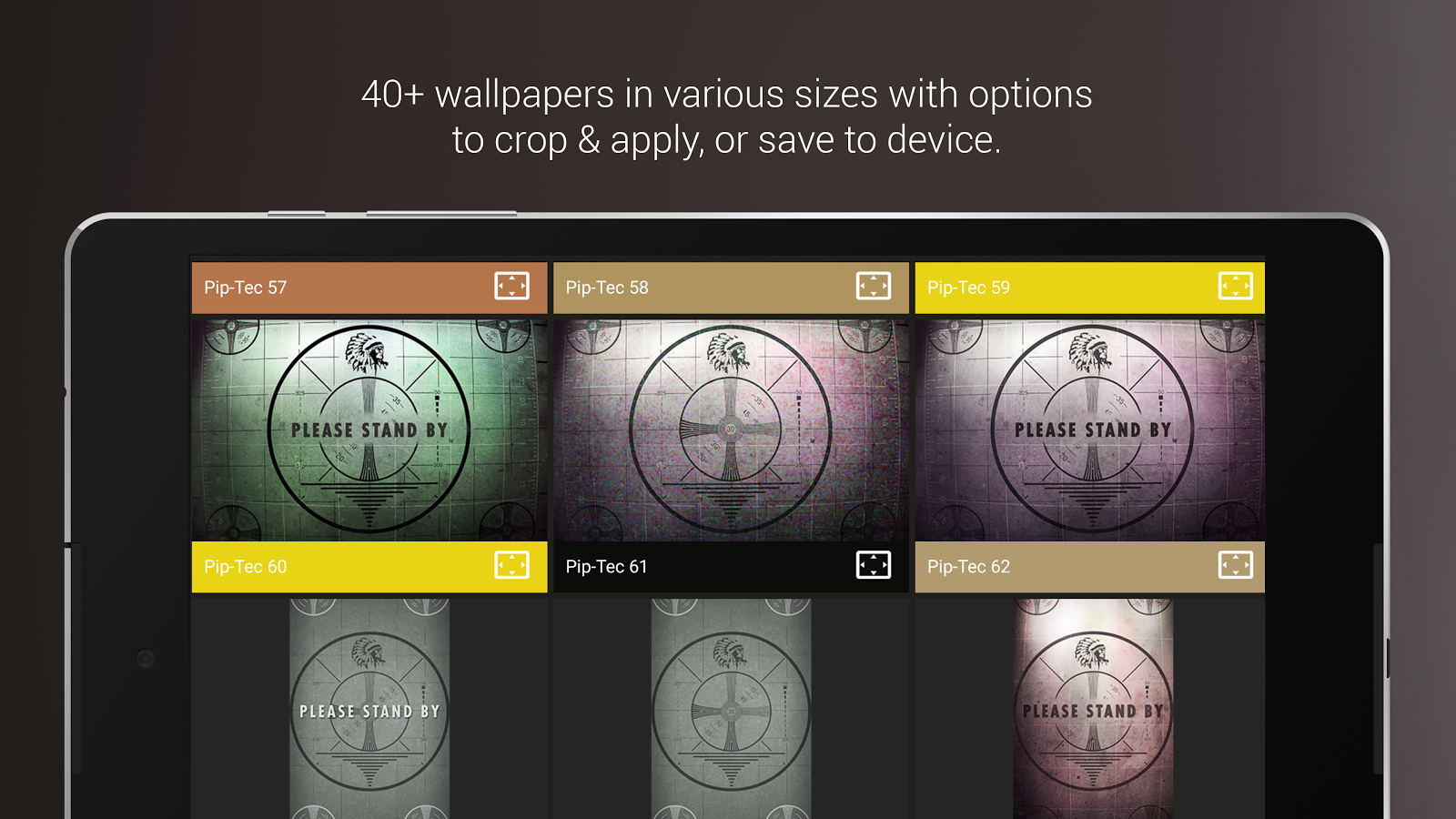 Piptec red icons live wall android apps on google play for Picture on wall app