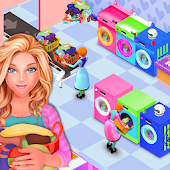 My Laundry Shop Manager: Dirty Clothes Washing Android APK Download Free By Mini Gamers Club