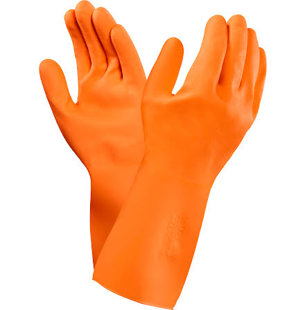 Latexhandske Orange Versa Stl7