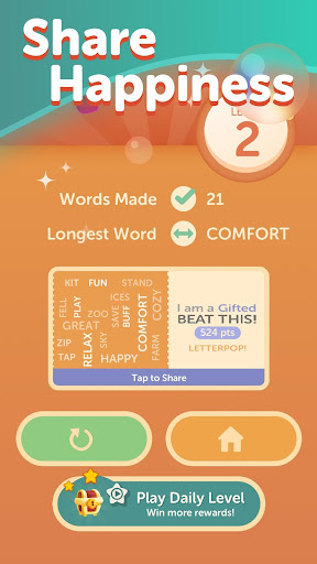 LetterPop - Best of Free Word Search Puzzle Games android2mod screenshots 4